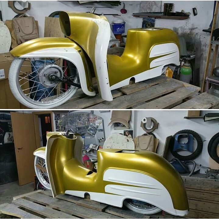 "250 Likes, 18 Comments - Marko Spektacolor Moschner (@marko_spektacolor_moschner) on Instagram: ""Personal Bike in progress.... #simson #suhl #simsonpower #simme #schwalbe #swallow #vogelserie #low…"""