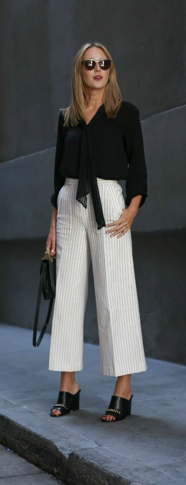 best 25+ wide leg cropped pants ideas on pinterest | culottes