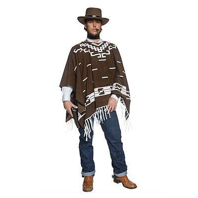 Authentieke western cowboy kostuum voor heren. Het western cowboy kostuum bestaat uit een lange bruine poncho, een shirt en een cowboy sjaaltje voor om de nek. Het stoere cowboy kostuum is exclusief de cowboy hoed. Carnavalskleding 2015 #carnaval