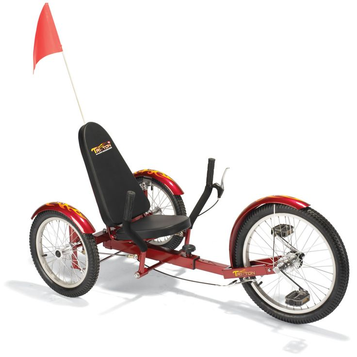 The Three Wheel Recumbent Cruiser - Hammacher Schlemmer