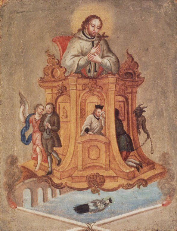 Saint John Nepomuk  Published late 18th century