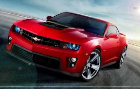 Chevrolet-Camaro-ZL1-in-Red