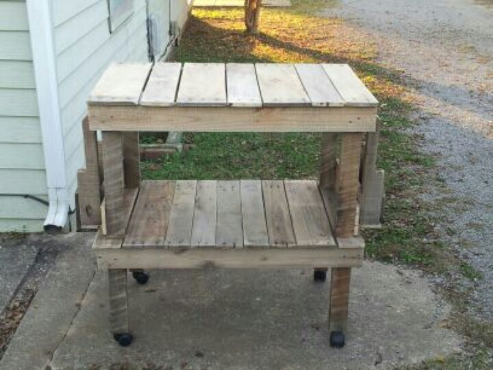 kitchen island made from pallet pallets into furniture