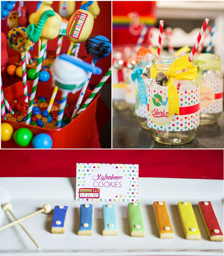 Music Inspired DIY Birthday Party DIY Desserts Table