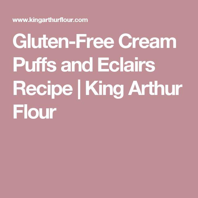 Gluten-Free Cream Puffs and Eclairs Recipe | King Arthur Flour
