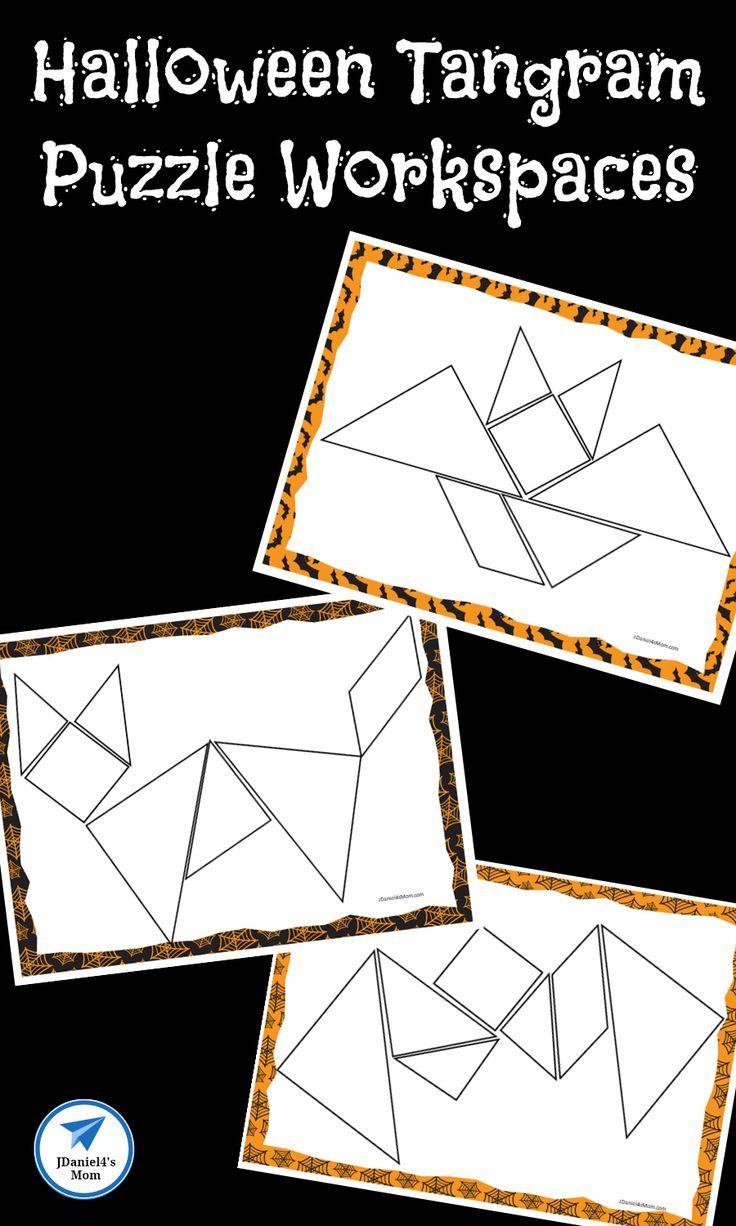 Your children will have fun exploring each tangram puzzle in this ...