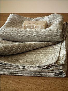Linen towels.