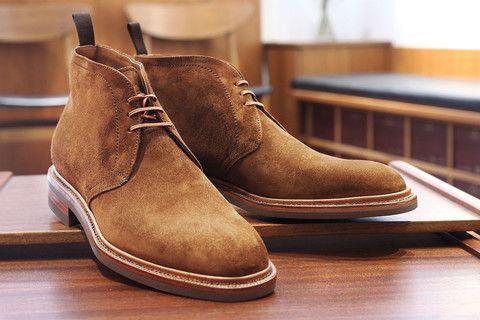 Carmina New Tobacco Suede Chukka – Skoaktiebolaget | Shoes ...