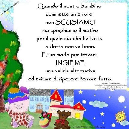 #Apprendere dagli #errori   #famiglia #genitori #bambini #sviluppopsicoemotivo #mamma #papà #figli #apprendimento #mammeefigli #infanzia #parents #family #mammepapà #bambino #educazione