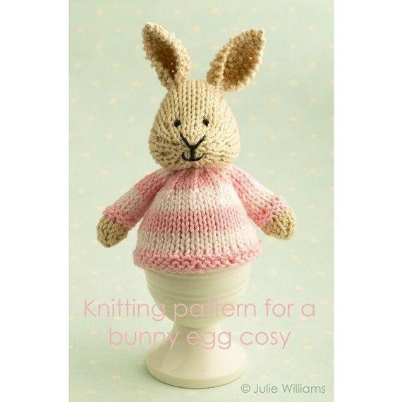modèle de tricot pour un coquetiers de lapin sur Etsy, $4.28 CAD