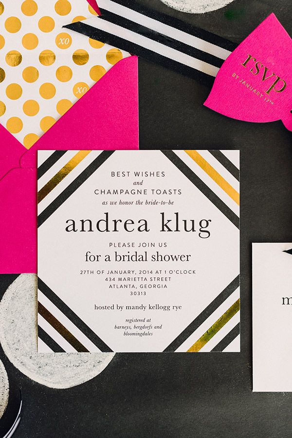 143 best images about a kate spade inspired bridal shower on pinterest
