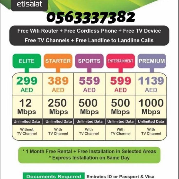 Etislat e life free tv channels home