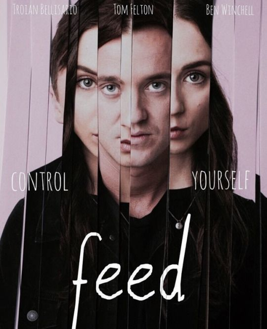 "Tom Felton´s new movie - ""Feed"" poster"