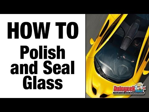 Auto Glass Cleaning Facts & Tips: learn about glass cleaners, towels, and water spot removal... DP Krystal Vision, Cobra Glass towel, water spots,