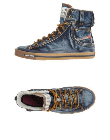 Diesel Women - Footwear - High-top sneaker Diesel on YOOX