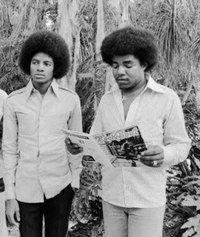 Michael and Tito Jackson