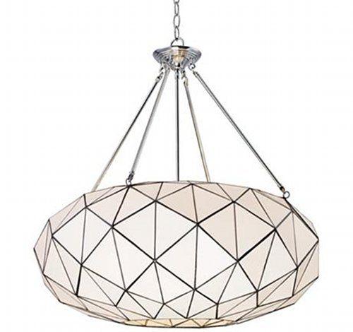 : 4Light Pendants, Tetra Collection, Landmark Lighting, Lighting Fixtures, Trav'Lin Lighting, 4 Lighting, 72023 4, Polish Chrome, Pendants Lighting