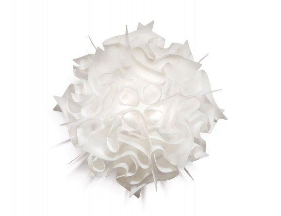 Nella Vetrina Slamp Veli Modern Italian Lentiflex Ceiling Light in White.