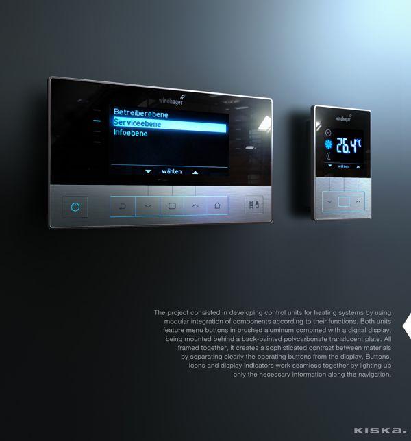 Control Units / Designed by KISKA on Behance