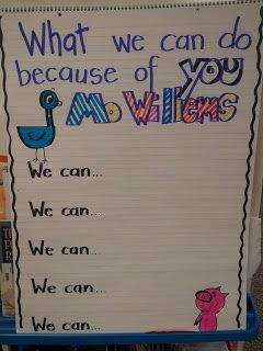 Authors As Heroes: Mo Willems' Author Study... Can try with writing unit author study, Jonothan London