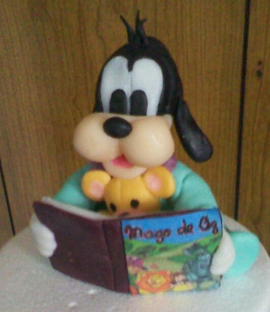 Goofy bebe | Mickey en porcelana fria | Pinterest