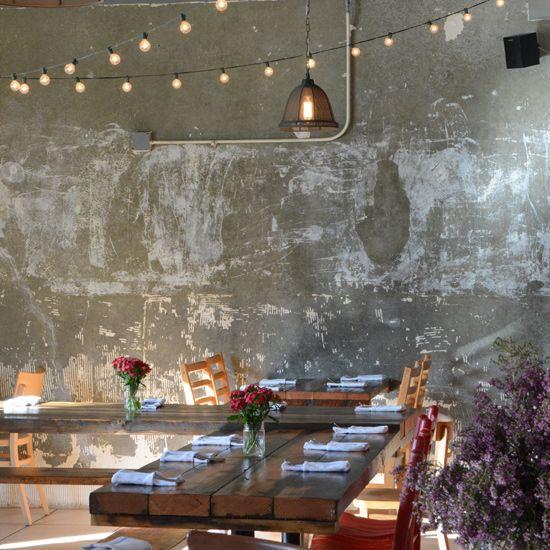 Modern Mexican Restaurants: Nido, Oakland, CA. [ MexicanConnexionforTile.com ] #design #Talavera #Mexican