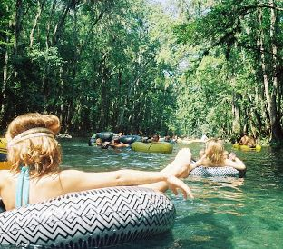 Go tubing in Bryson City, NC - Best way to spend a summer day!