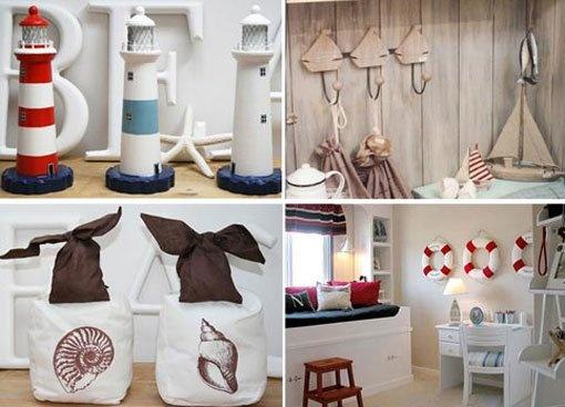 Ideas para decorar casas de playa... Huele a mar :)