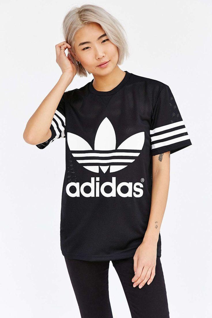 adidas Originals Mesh Unisex Tee #UrbanOutfitters