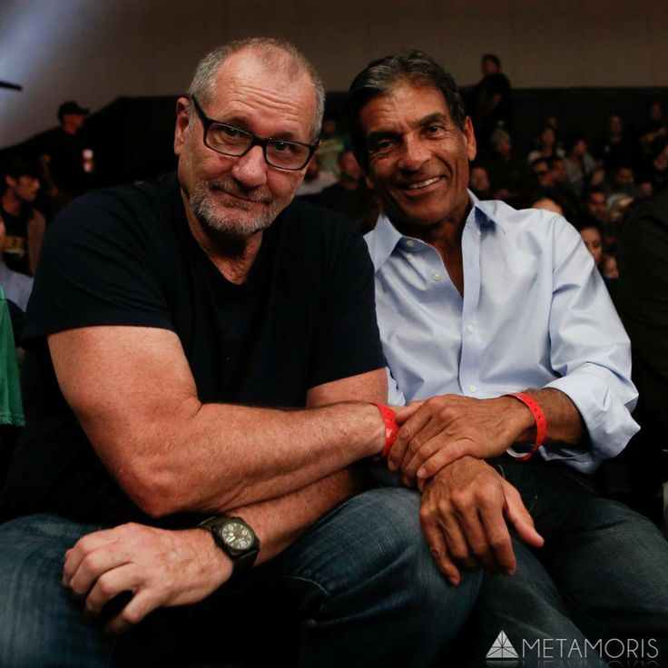 Ed O'Neill & Rorion Gracie on Metamoris 5