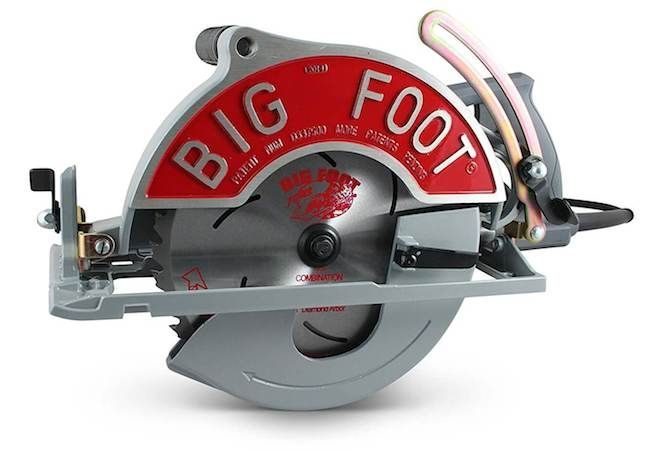 Big Foot Sbfx Bf 15 Amp 10 1 4 Inch Worm Drive Circular Saw Review Circular Saw Worm Drive Circular Saw Timber Framing Tools