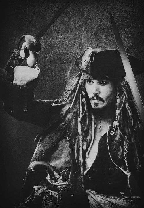 """""""The problem is not the problem. The problem is your attitude about the problem. Do you understand?"""" -Johnny Depp (Jack Sparrow)"""