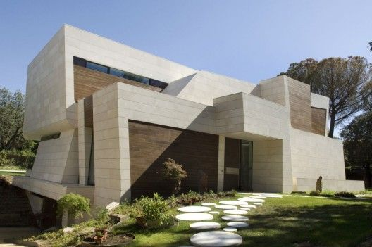 House in Madrid. Architects: A-cero.  Location: Madrid, Spain