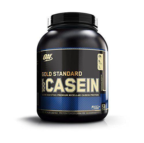 Optimum Nutrition 100% Casein Protein, Chocolate Supreme,...