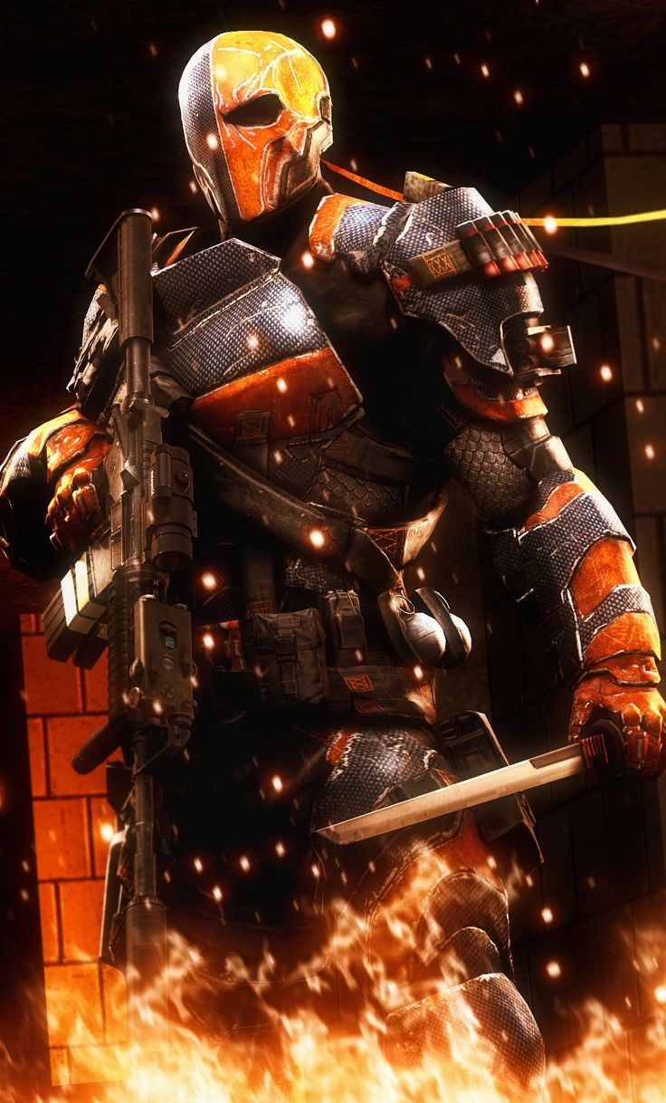 Deathstroke by AngryRabbitGmoD<---I would pay so much money if they made a deathstroke movie with that kind of suit.