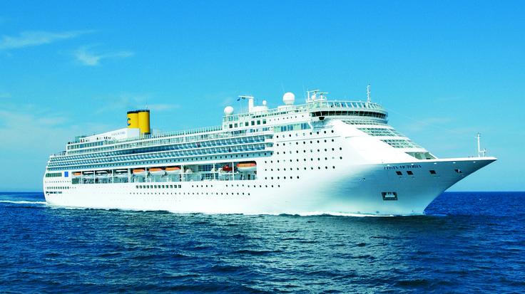 The magnificent Costa Victoria at sea!