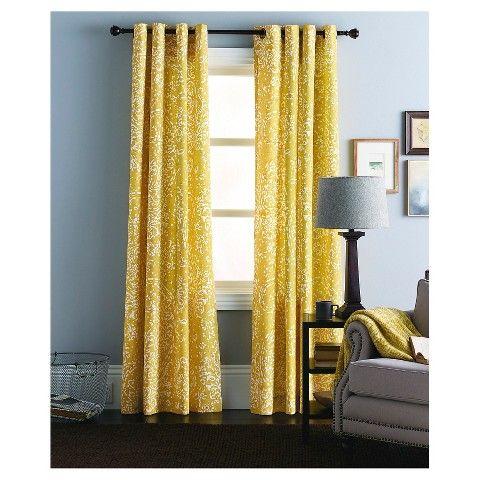 Threshold™ Paisley Curtain Panel LIVING ROOM