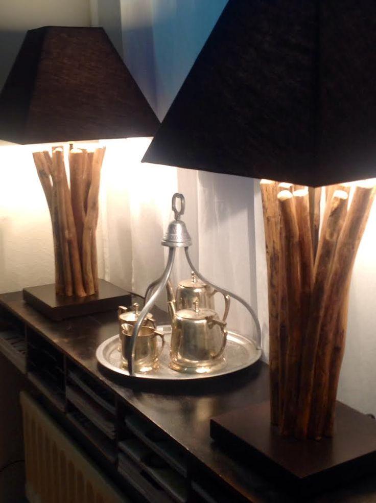 Bedroom styling - lamps - handmade - intercontinental www.houseofbk.com