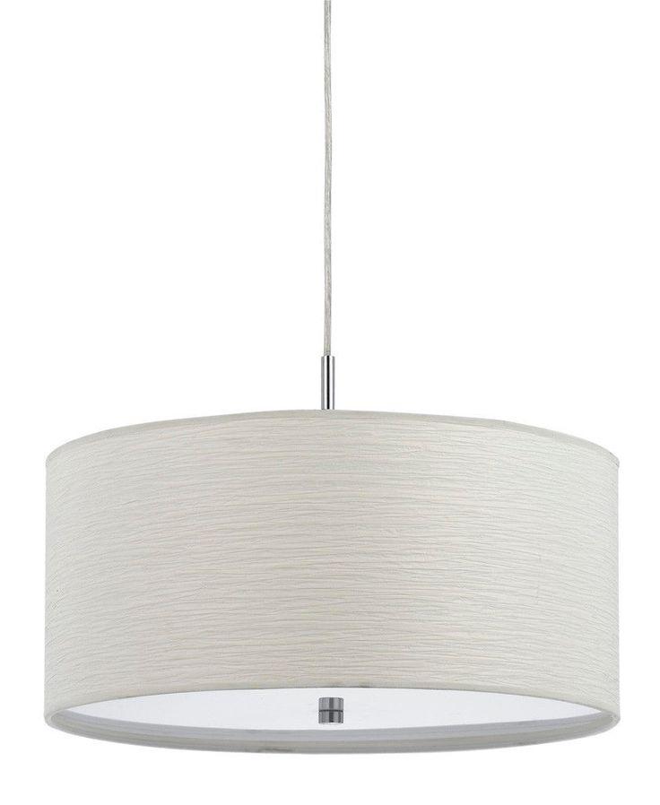 modern drum pendant lighting. Casual White Drum Pendant Light 18\ Modern Lighting H