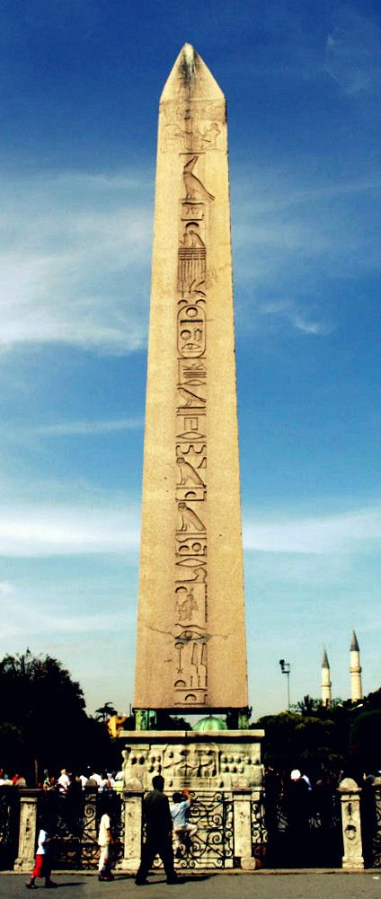 Visit the Obelisk of Theodosius, which has stood in #Istanbul since the 4th century.