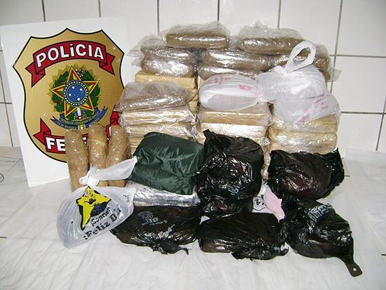 Dez quilos de cocaína são apreendidas no aeroporto de São Luís