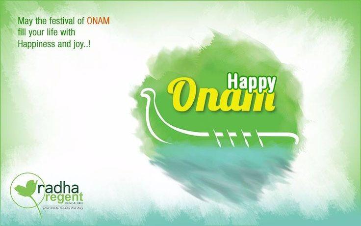 May the festival of Onam fill your life with Happiness and joy..! Happy Onam!  #HappyOnam #Onam #HotelRadhaRegentBangalore #Hotel #RadhaRegent #Bangalore