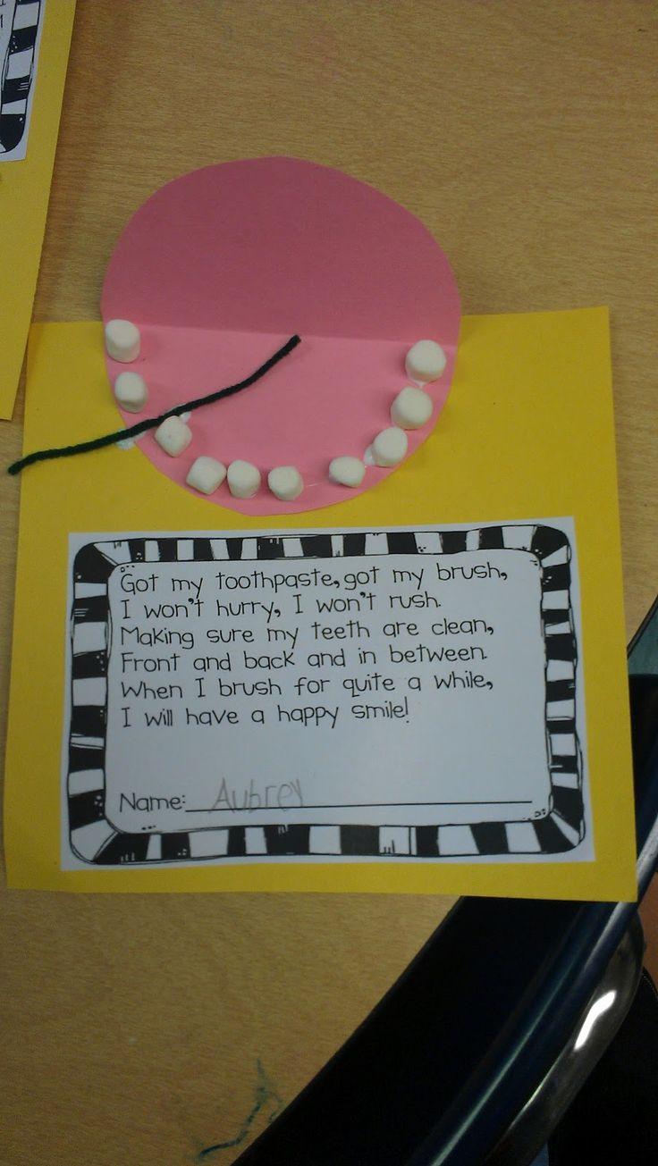 Kindergarten Schmindergarten: Teaching Teeth!  Use these two lessons!