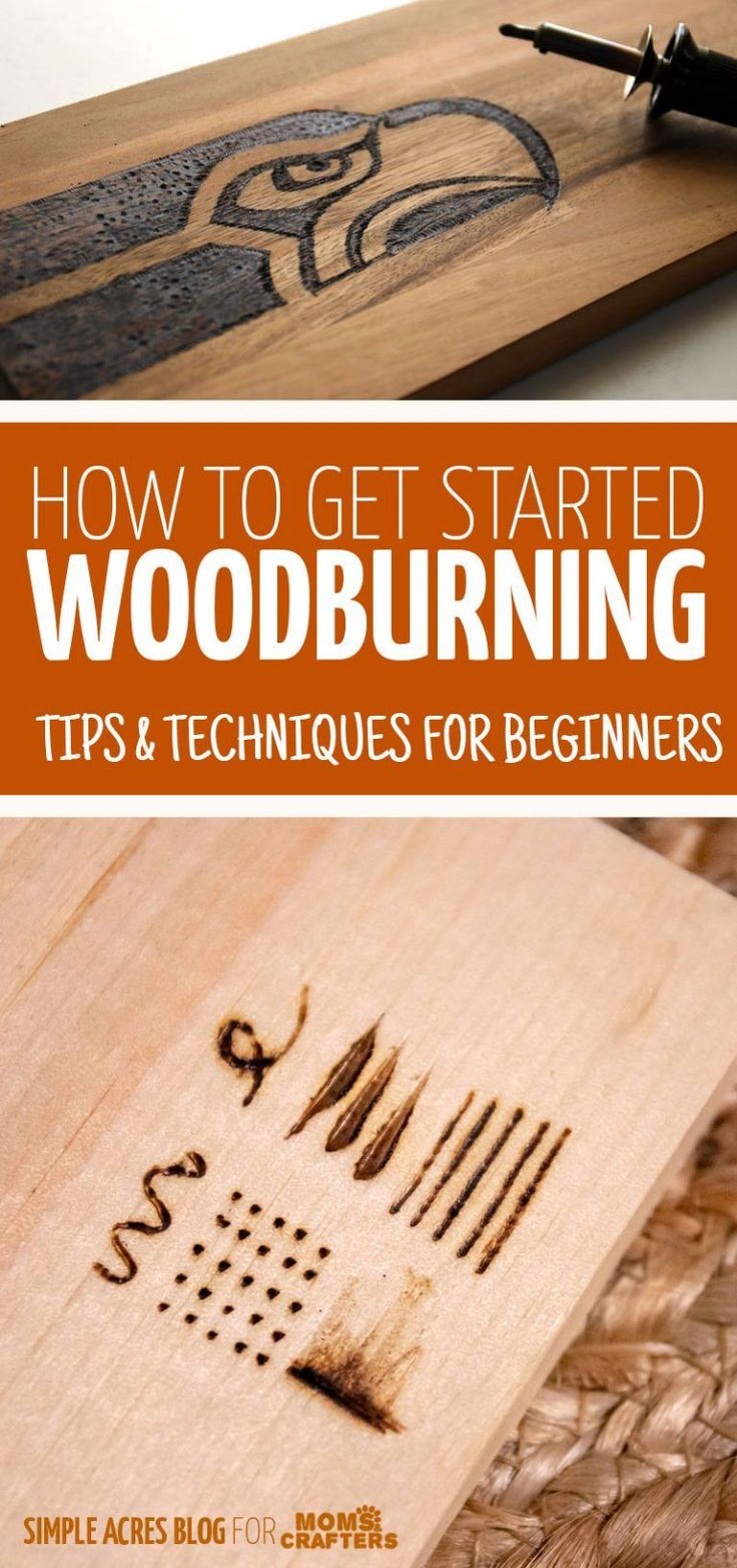 Woodburning Tips & Techniques for Beginners #woodp…