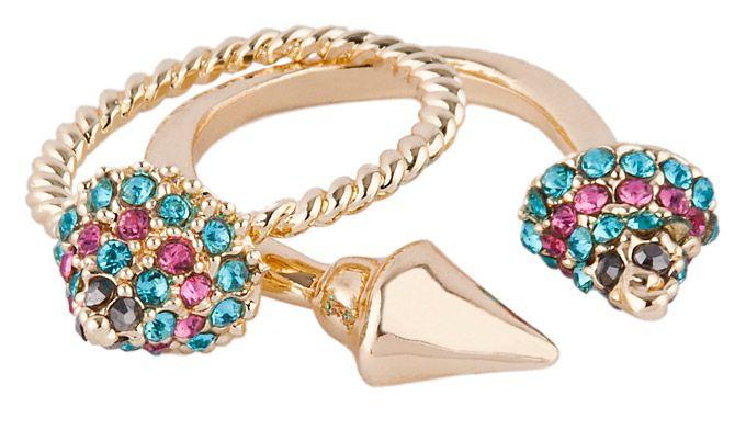 DIAMOND STING RINGS SET
