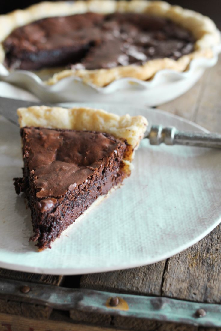 amazing  brownie pie