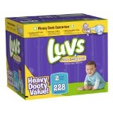 Luvs With Ultra Leakguards Size 2 Diapers 228 Count  (Health and Beauty)By Luvs
