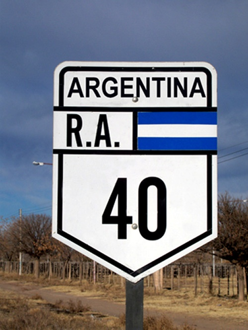 Ruta 40 Argentina...
