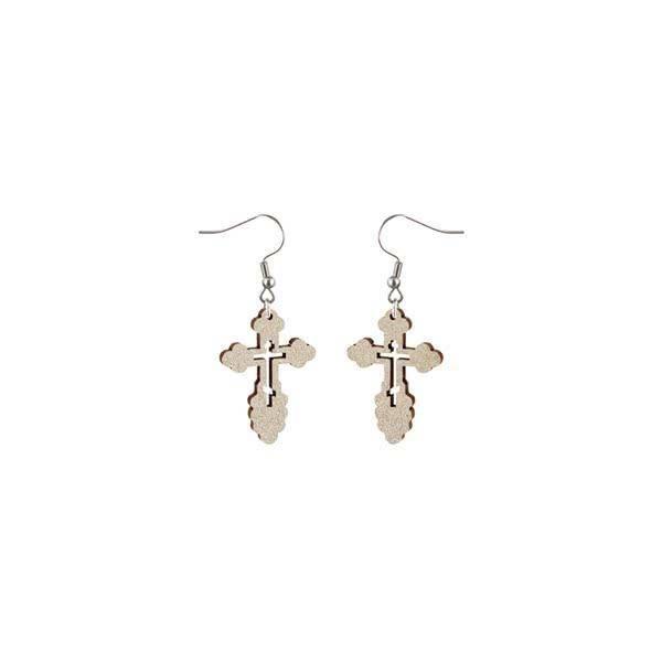 Ortodoksiristi Korvakorut Drop Earrings Jewelry Earrings