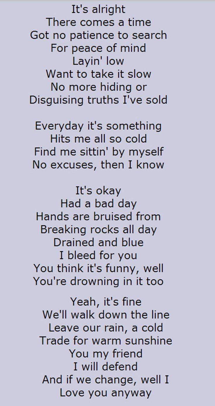 Alice in Chains – Nutshell Lyrics | Genius Lyrics